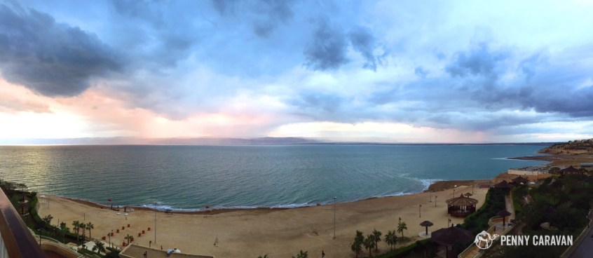 We had bad weather the whole time, but sitting on the balcony watching the storm was pretty awesome!