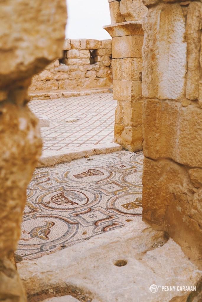 Mosaics similar to what we saw in Madaba.