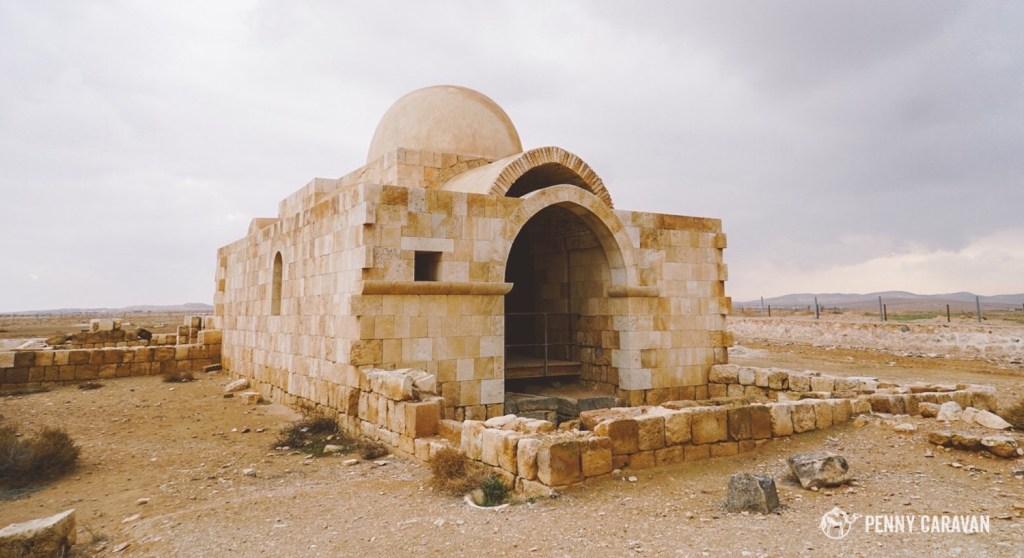 Hammam al-Sarah has been beautifully restored.