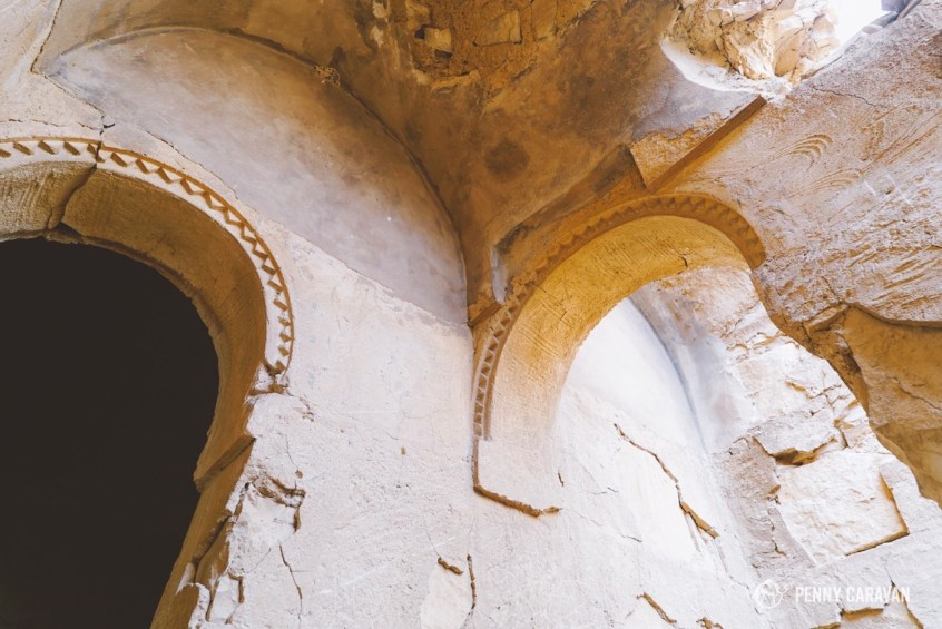 Doorway details.