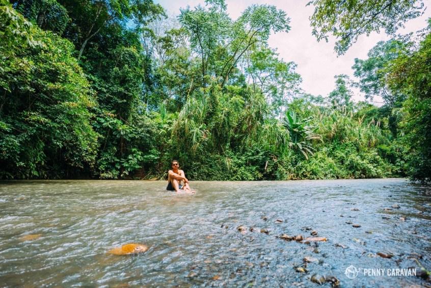 Chillin in the river.