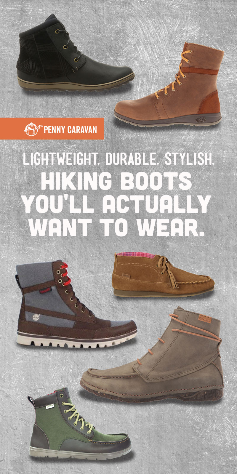 Women's Hiking Boots | Penny Caravan