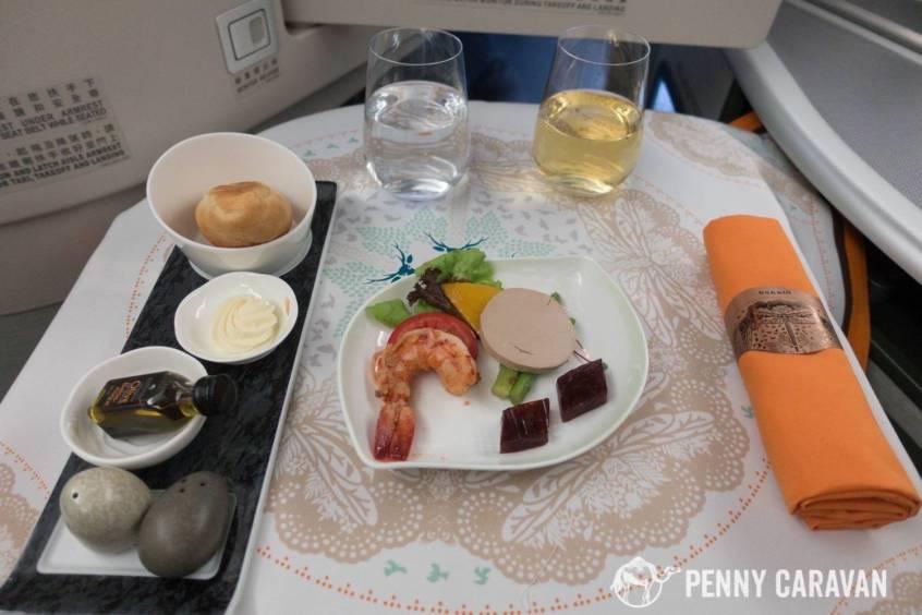 Eva Air Taipei to Houston-82