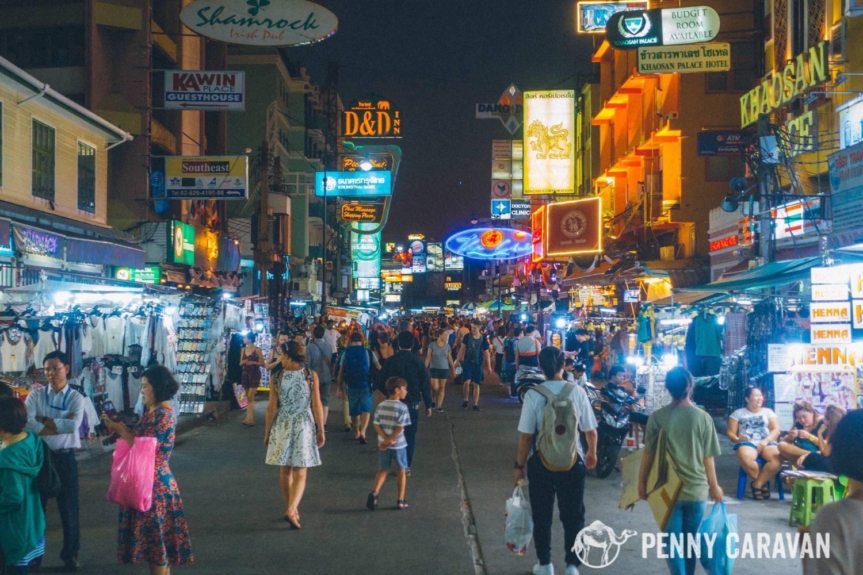 Come arrivare a Khao San Road da Rama 1 Road - Forum ...
