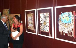 Penny Evans wins prestigious art award, COFA 2009