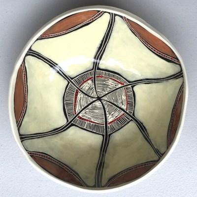 #388 Spirit Dreaming ceramic Bowl