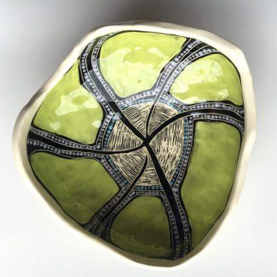 #769 Finger lime Spirit Dreaming ceramic Bowl
