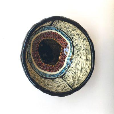 1036 Meeting Place ceramic pinch pot