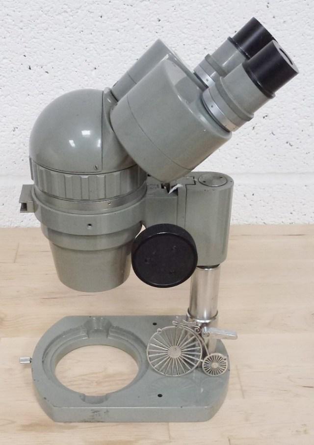 OLYMPUS X10 X4 ZOOM BENCH MICROSCOPE