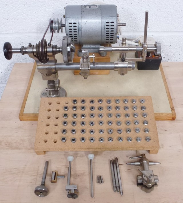 STAR 8mm WATCHMAKERS LATHE