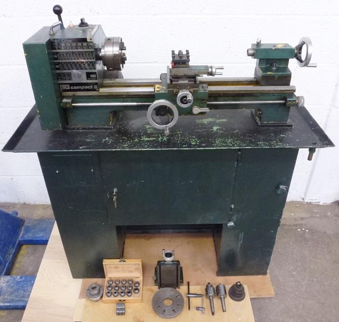 Emco Compact 8 Lathe 171 Pennyfarthing Tools Ltd
