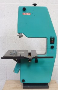 INCA EURO 260 BENCH BAND SAW