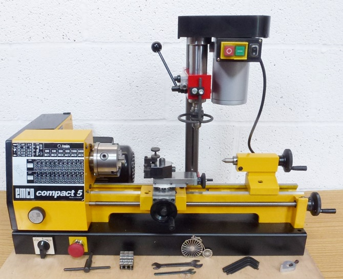 Emco Compact 5 Lathe And Mill 171 Pennyfarthing Tools Ltd