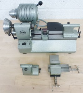 BOLEY F1 8MM PRECISION WATCHMAKERS LATHE