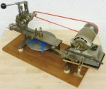 HOME CONSTRUCTED WHEEL CUTTING ENGINE