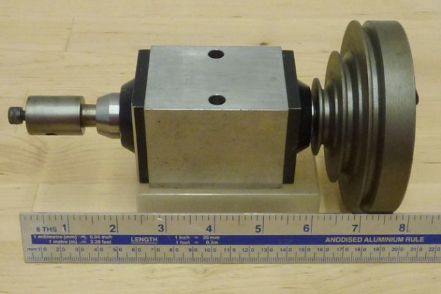 J.M.WILD WHEEL CUTTING & MILLING SPINDLE