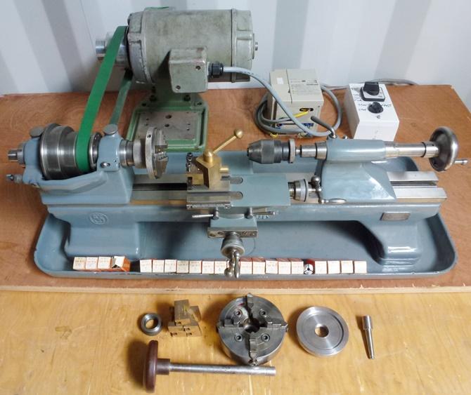 Schaublin 70 Precision Bench Lathe 171 Pennyfarthing Tools Ltd