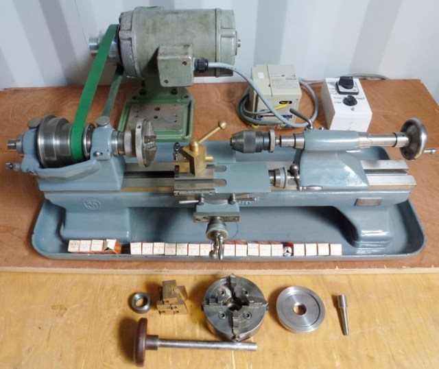 SCHAUBLIN 70 PRECSION BENCH LATHE