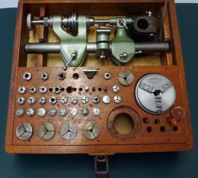 PULTRA TYPE 10 8mm WATCHMAKERS LATHE