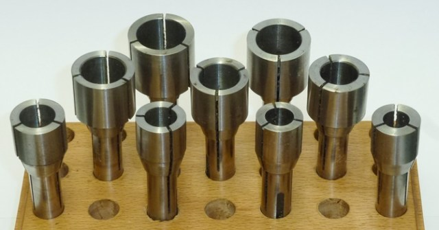 SET of 9 10mm EXTENDED NOSE PUTRA COLLETS