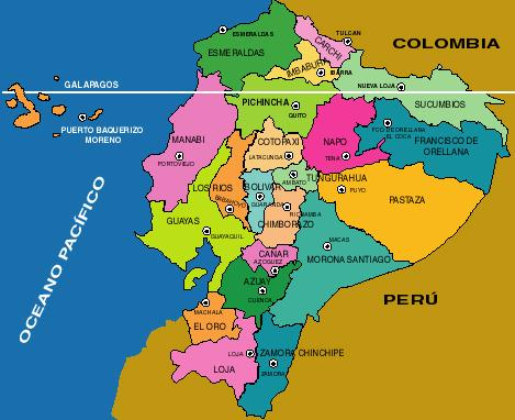 The Provinces of Ecuador