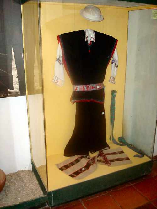 Male clothing of Inca people