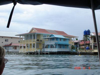 Waterfront in Bocas del Toro