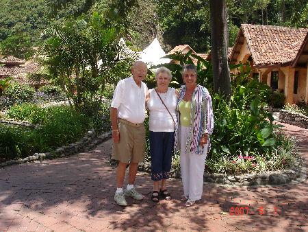 It was great showing them around Boquete