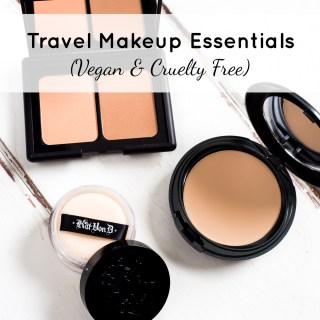 My Travel Makeup Essentials (Vegan & Cruelty Free)