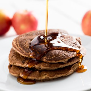 Apple Pancakes (Vegan, Gluten & Oil Free)