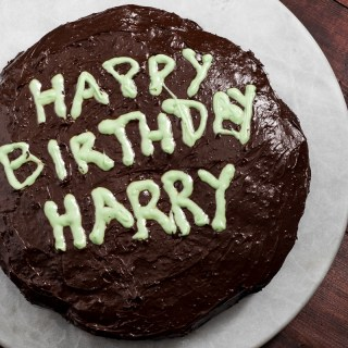 Happy Birthday Harry Potter/Vegan & Gluten Free Chocolate Cake