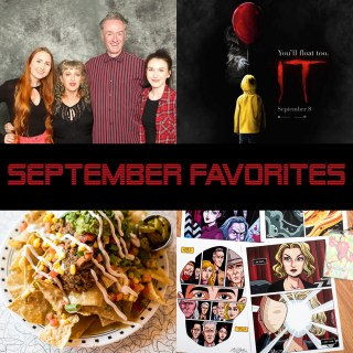 September Favorites- Twin Peaks & Vegan Eats