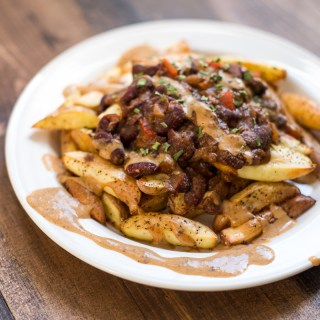 Cooking Adventures: Vegan Low-fat Chili Cheese Fries