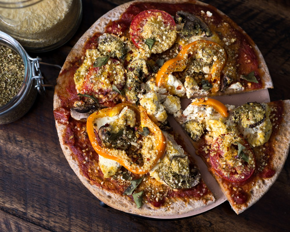 Vegan and Gluten Free Pizza