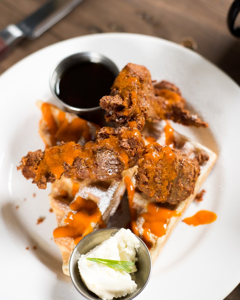 Vegan Chicken & Waffles