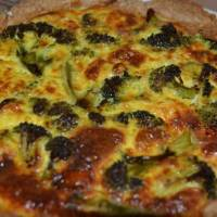Broccoli And Blue Cheese Quiche