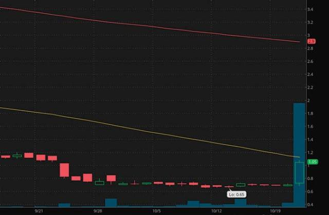 top penny stocks to watch Teligent Inc. (TLGT stock chart)