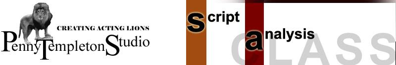 Script Analysis Class header