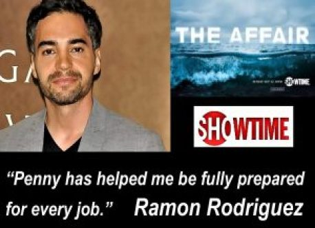 Ad for Ramon Rodriguez on The Affair