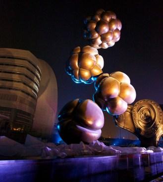 Damien Hirst fetus sculptures in Qatar
