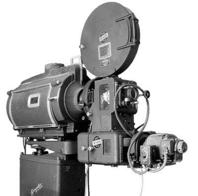 1941 Super Simplex 35mm film projector | Photo | Penobscot ...