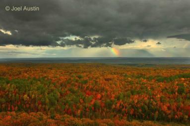 The Penokee Hills in Autumn. Photo © Joel Austin