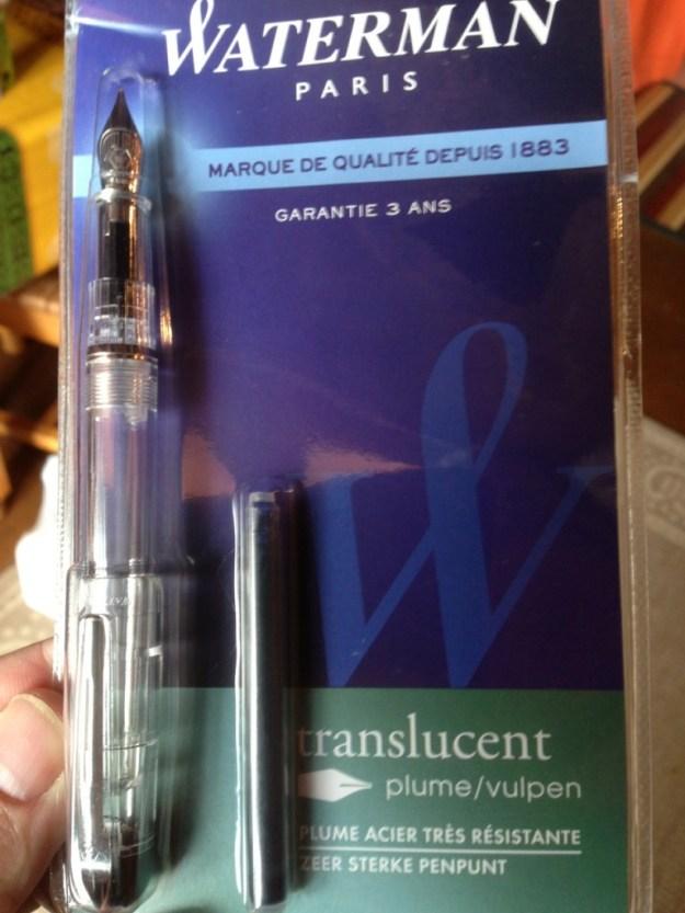 Waterman Translucent fountain pen