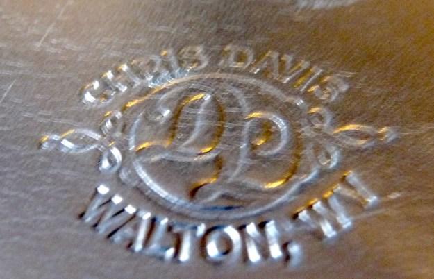 Davis Leatherworks stamp