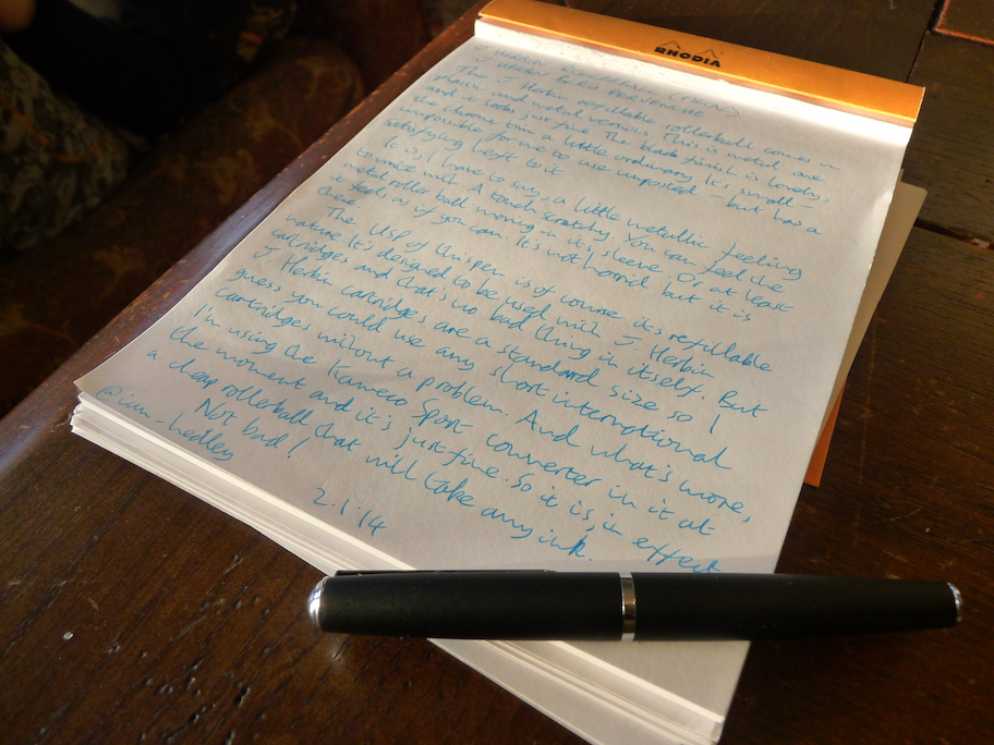 J Herbin Rollerball review
