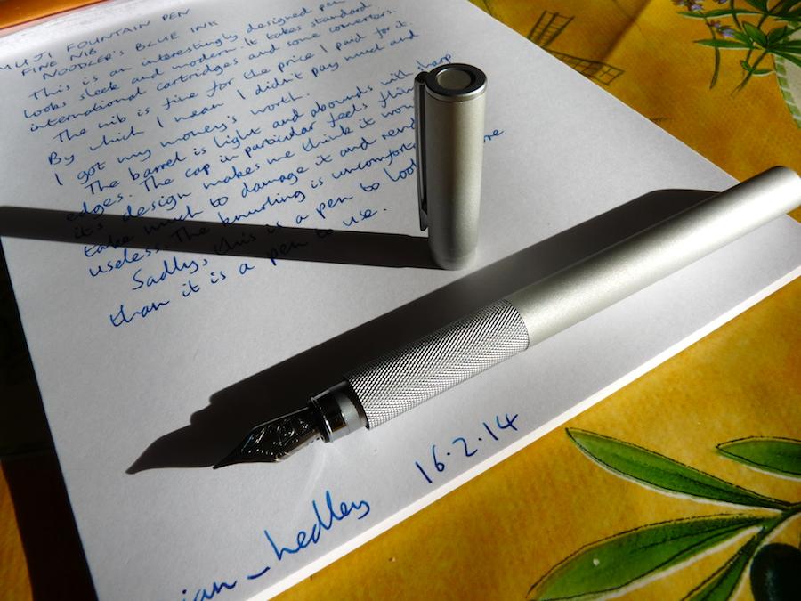 Review: Muji Gel Ink Pen 0.38mm Black