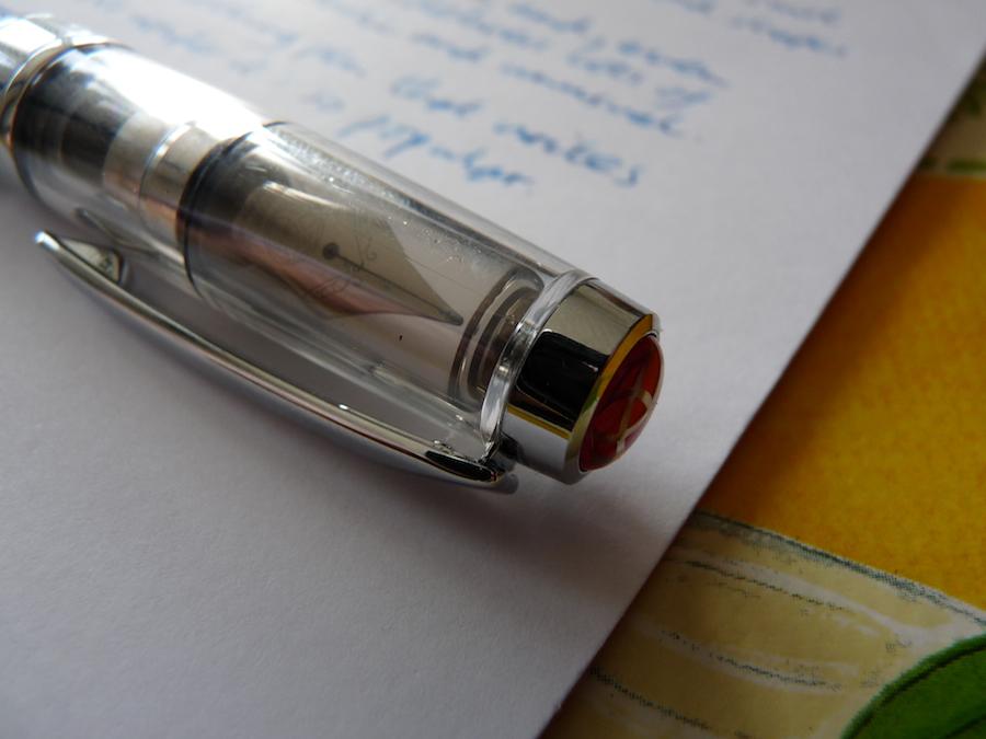 TWSBI Diamond 580 fountain pen capped nib