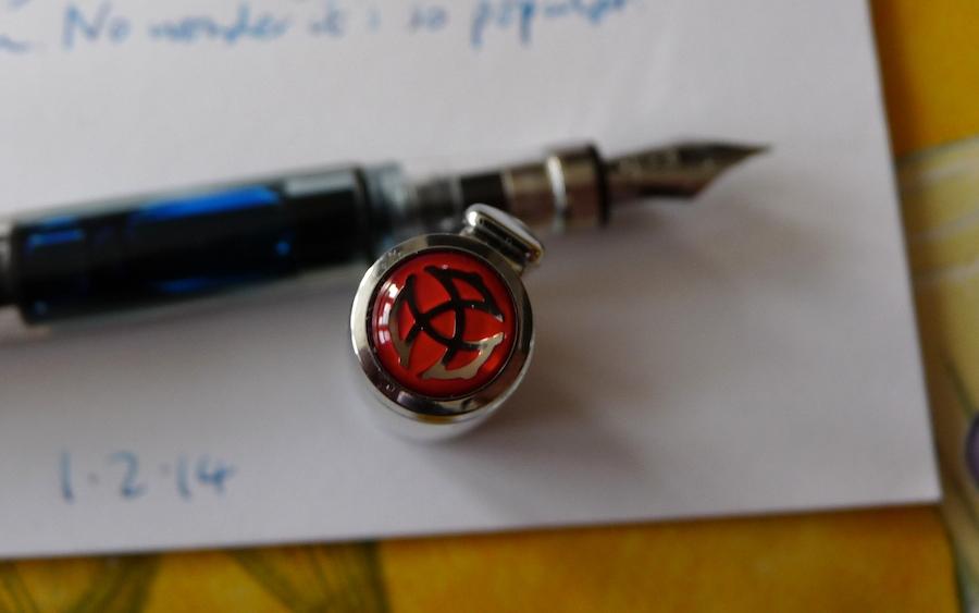 TWSBI Diamond 580 fountain pen logo