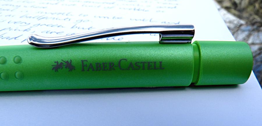 Faber-Castell Grip 2011 Ballpoint branding