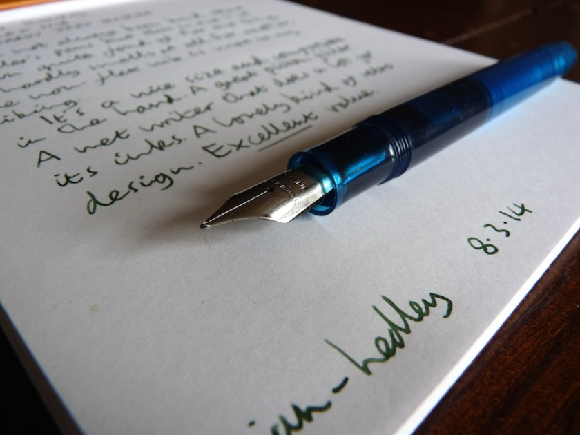 Noodlers Konrad fountain pen review